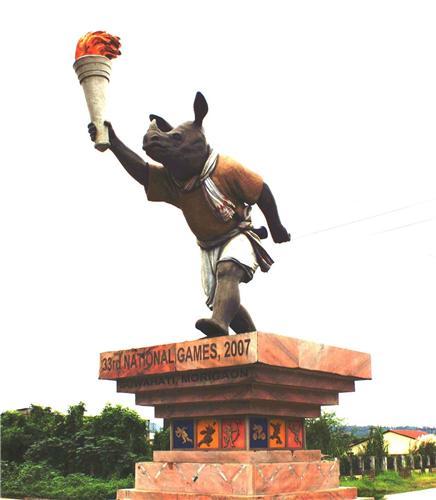 Sarusajai Stadium in Guwahati