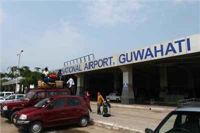 Guwahati Airport in Borjhar