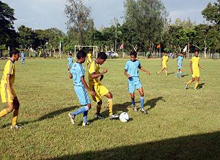 Football in Haldia