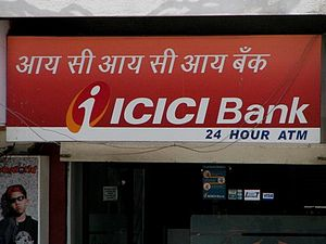 ICICI Bank ATM(Source: ashishaggarwal122.wordpress.com )