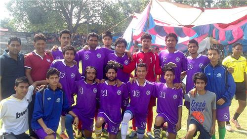Football Team at Hamirpur