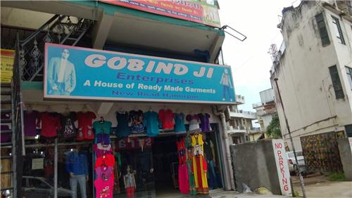 Shops Selling Clothings on New Road
