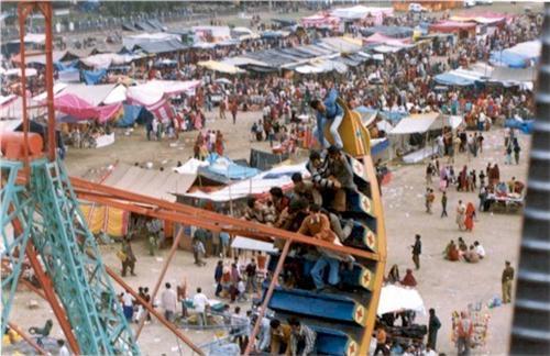 Holi mela at Sujanpur Tira