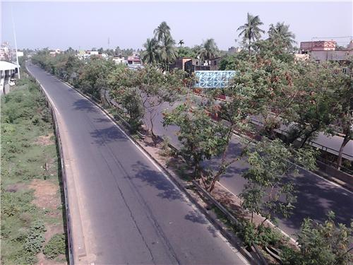 NH 117 in Howrah