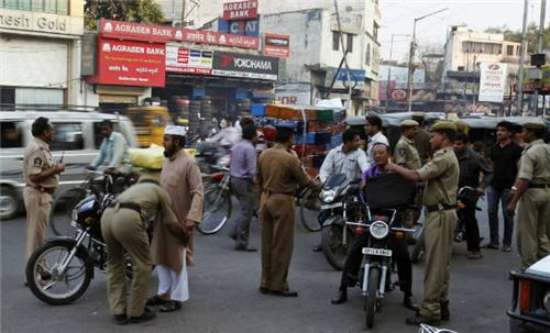 Hyderabad Police at Work