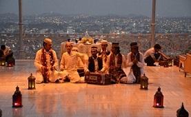Music at Taj Falaknuma Palace