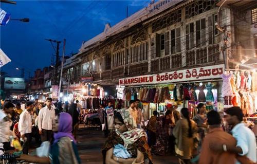 Wholesale market in Hyderabad