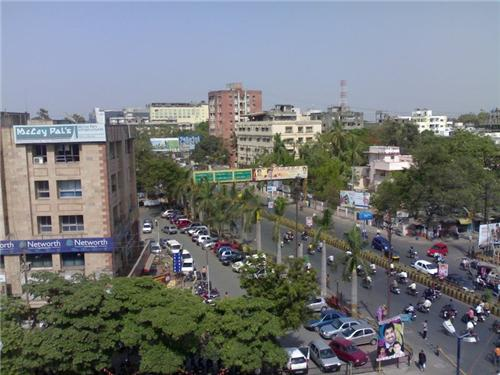 Mahatma Gandhi Road in Indore