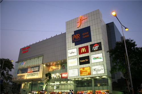 Malls on MG Road in Indore