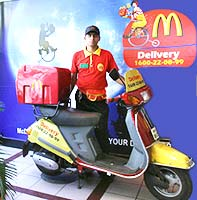 McDonalds Delivery in Indore