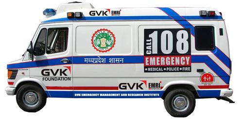 Ambulance services in Indore