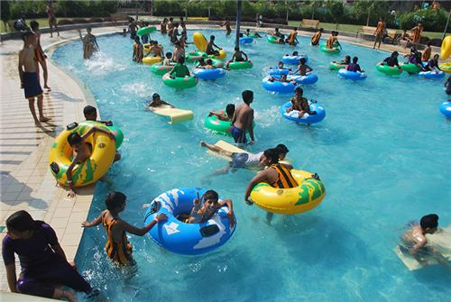 Water Park in Indore at Crescent Water Park