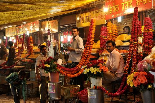 Flower Markets in Indore