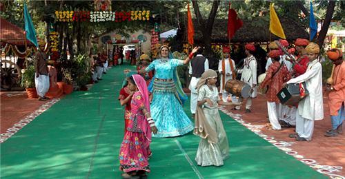 Nakhrali Dhani Folk Dance Indore