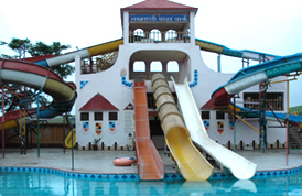 Nakhrali Dhani Water Park in Indore