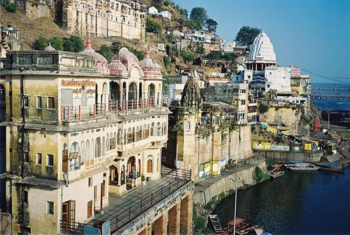 Omkareshwar near Indore