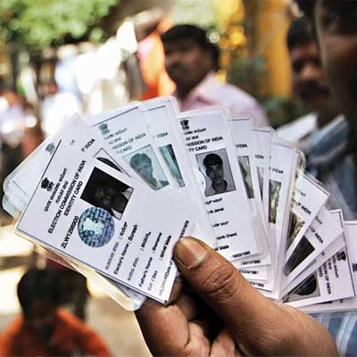 Voter ID in Indore