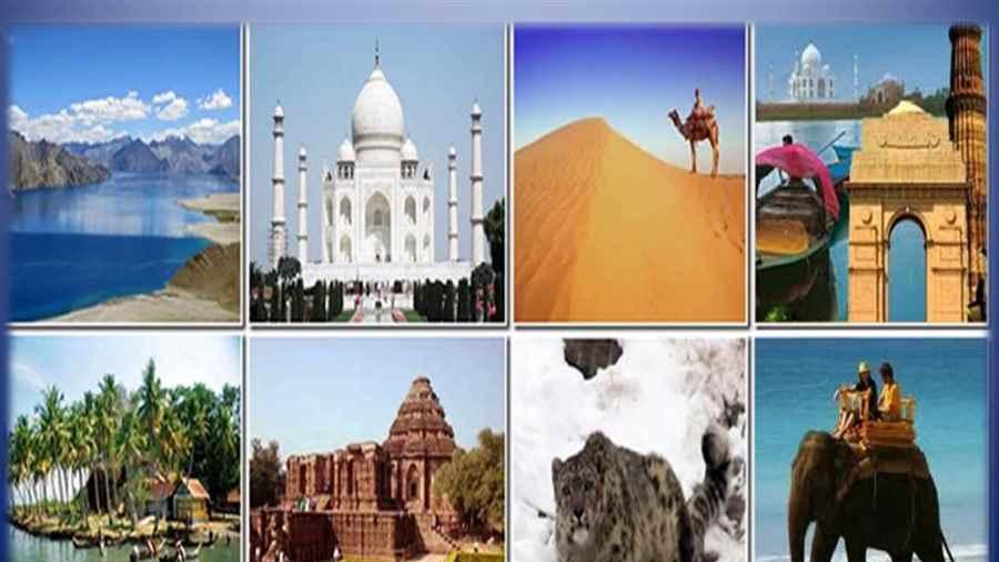 भारत में घूमने के स्थल