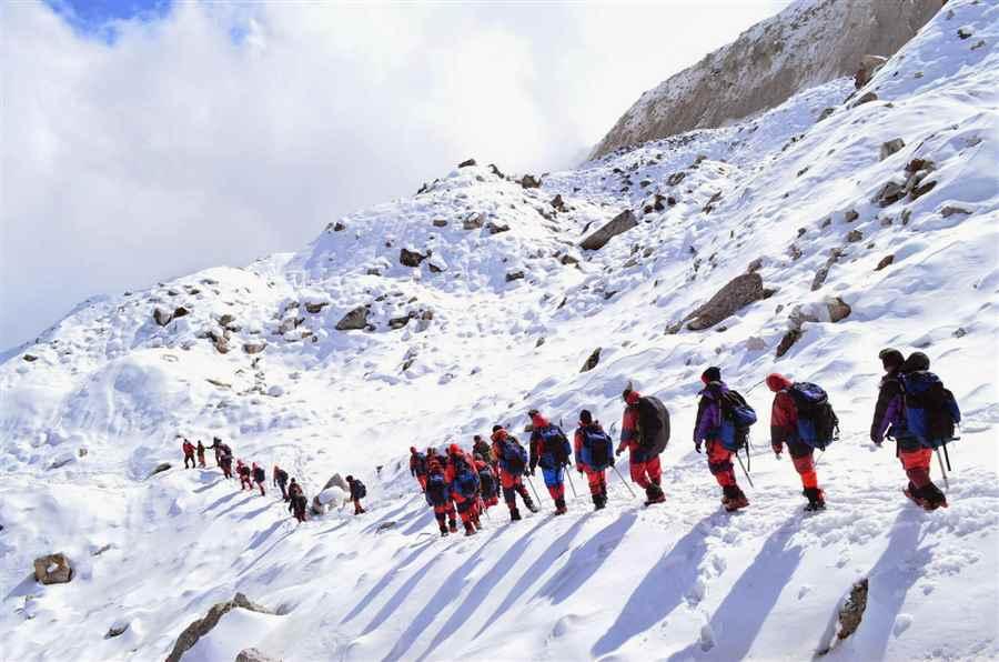 भारत में पर्वतारोहण के स्थल