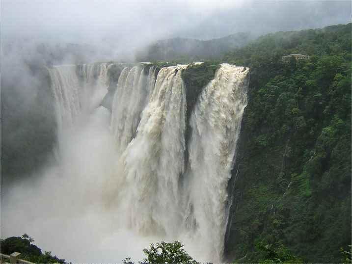 भारत के प्रसिद्ध झरने