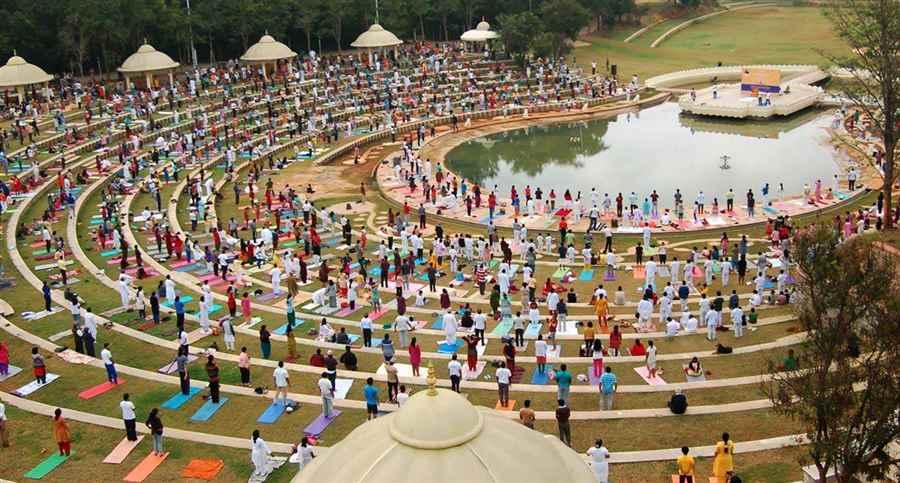भारत के प्रसिद्ध आध्यात्मिक योग ध्यान केंद्र