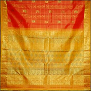 Sarees from South India
