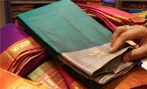 Silks from South India