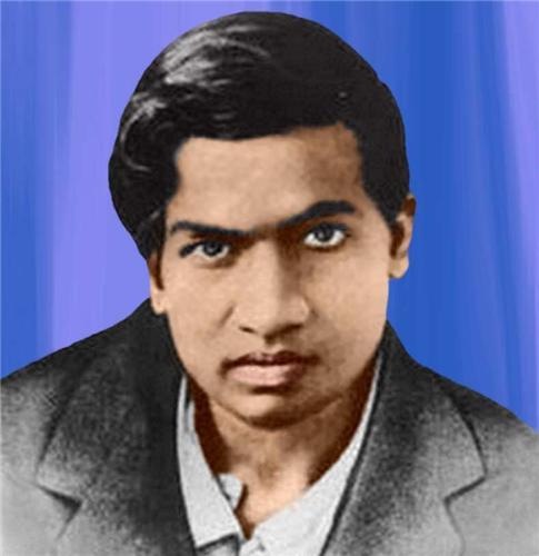 Srinivasa Ramanujan, Indian Mathematician Srinivasa Ramanujan