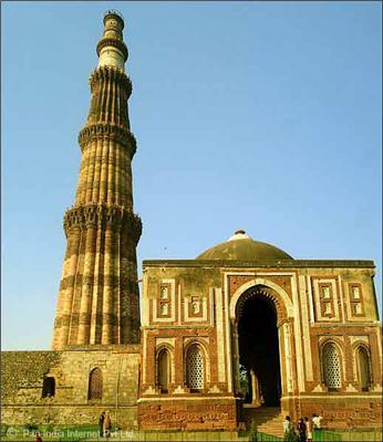 Qutab Minar - Ecample of Mughal Sculpture