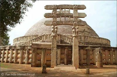 Sanchi Stupa in Madhya Pradesh
