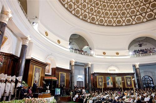 Central Hall in Parliament