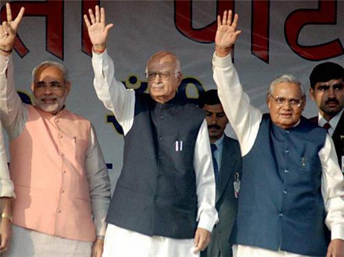 Modi Advani Vajpayee