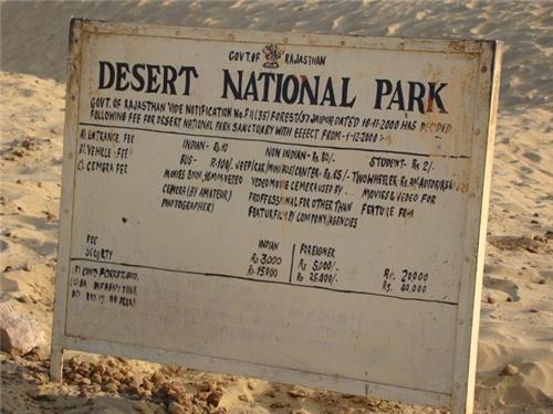 National Parks in Rajasthan