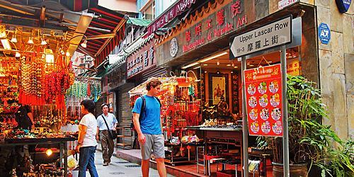 Antique Shopping in Hong Kong