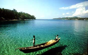Butler Bay in Andaman