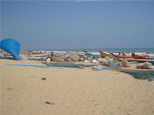 Mypadu Beach in Andhra Pradesh