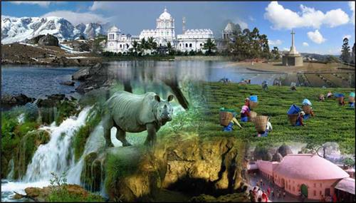 Tourist Destinations in North East India