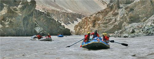 Best Rafting spots in India
