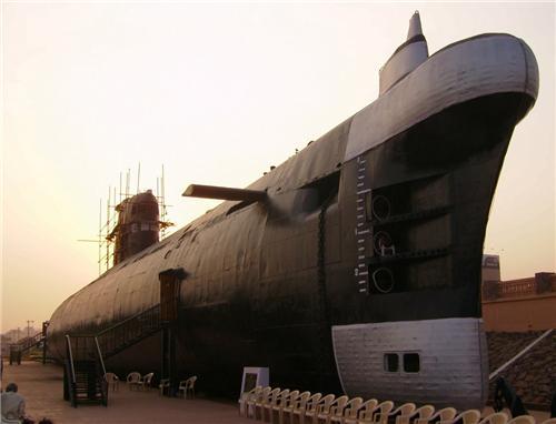 Submarine Museum in Visakhapatnam
