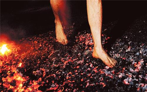 Fire-Walking in of India