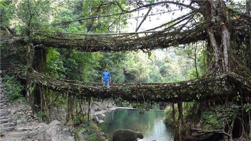 Meghalaya as a cheap tourist destination India