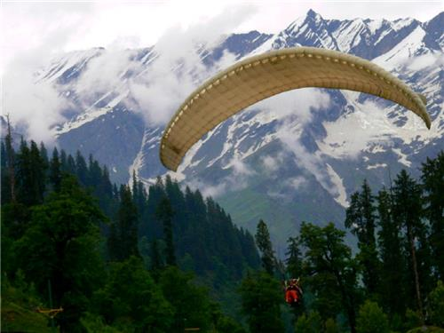 paragliding holidays in Himachal pradesh, Bedni