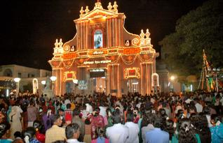 puducherry christmas celebrations - Do They Celebrate Christmas In India