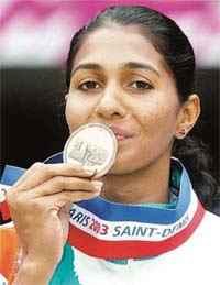 Female athlete India
