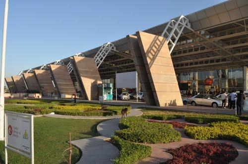 Airport in Jaipur