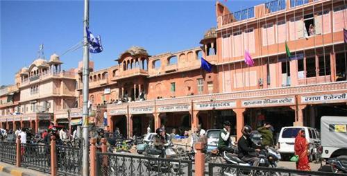 Jaipur street shopping