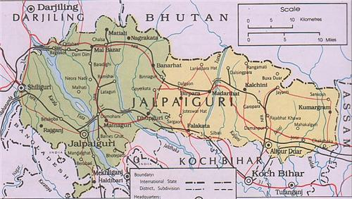 Geography of Jalpaiguri