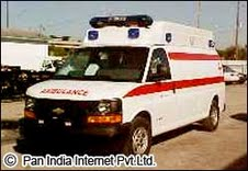 Ambulance in Jashedpur