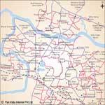 Jamshedpur Road map