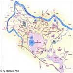 Jamshedpur Tourist Map